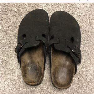Black Closed toe Birkenstock's